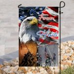 american flag forever in our hearts veteran all over print flag