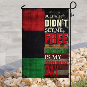 american flag juneteenth is my independence day african all over print flag