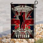 british union jack remembrance day red poppy military soldier veteran all over printed flag
