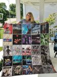 Depeche mode albums cover all over printed quilt