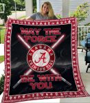 May the force be with alabama crimson tide all over print quilt