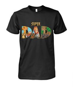 The lion king super dad for father's day shirt