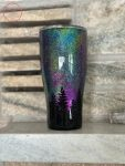 Night Sky and Trees Northern Lights Tumbler