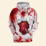 Halloween bloody you can't scare me worry me or intimidate me i've been a nurse far too long shirt 1