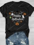Happy halloween and little things doodle shirt 1