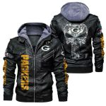 National football league green bay packers leather jacket 1