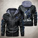National football league tennessee titans from father to son leather jacket 1