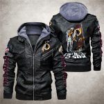 National football league washington redskins from father to son leather jacket 1