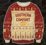 Southern comfort new orleans original ugly christmas sweater