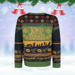 The lord of the rings movie ugly christmas sweater