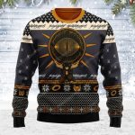 The lord of the rings ugly christmas sweater